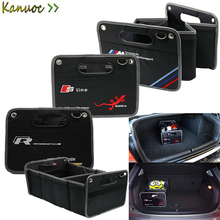Car Trunk Organizer Toys Food Storage Container Bags Box Car Styling for BMW E90 E60 F30  sc 1 st  AliExpress.com & Buy car storage bag bmw and get free shipping on AliExpress.com