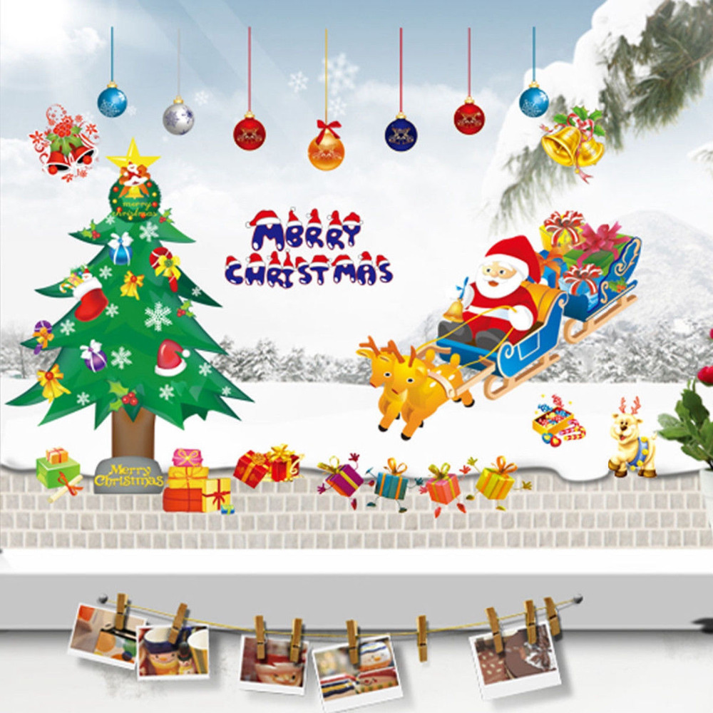 Buy christmas tree santa claus removable for Shop xmas decorations