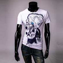 New Fashion Women/men animal tiger print 3d t shirt cartoon Funny Monroe Pharaoh cat 3d Top tee M-XXL TS162