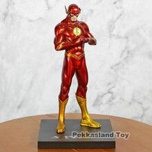 DC جديدة العدالة الدوري JLA خارقة فلاش باري ألين PVC الشكل العمل منتديات سوبرمان نموذج جمع لعبة هدية