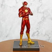 새로운 저스티스 리그 JLA 슈퍼 히어로 플래시 배리 앨런 PVC 피겨 모델 컬렉션 장난감 선물