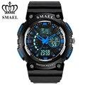 SMAEL Brand Dual Time Sport Watch Men 50m Waterproof LED Digital Quartz Watches Men's Wrist Watch montre homme relogio WS1539