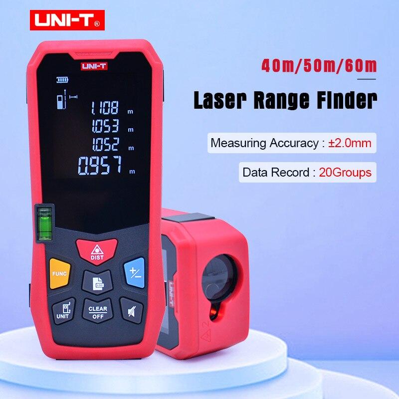UNI-T LM Serie Laser-entfernungsmesser laser-distanzmessgerät LM40/LM50/LM60 High-definition 2.0