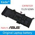 Kede 15 2 V 62Wh оригинальный C41N1531 Аккумулятор для ноутбука ASUS GL502VS-1A GL502VY-DS71 GL502VY GL502VT-1B Series Tablet