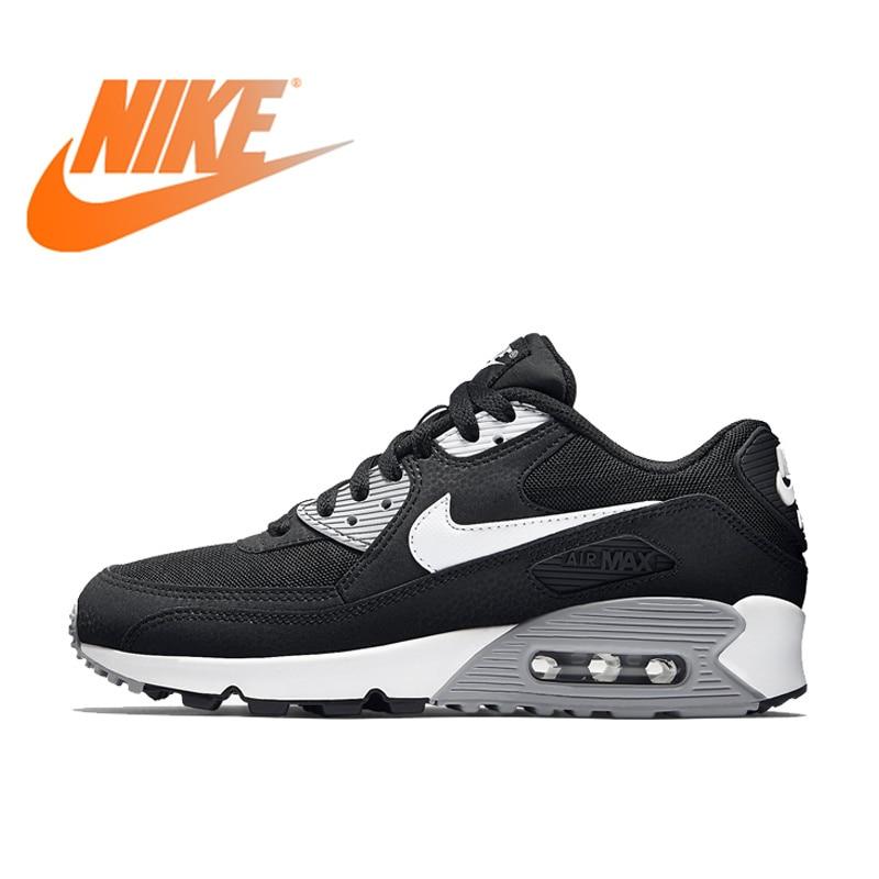 NIKE AIR MAX 90 essentiel respirant chaussures de course pour femmes baskets chaussures de Tennis femmes chaussures de course d'hiver classique 616730