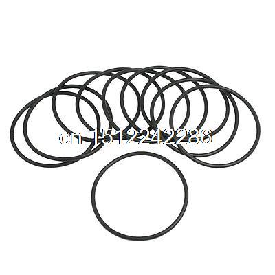 Big Deal 10 Pcs 67mm X 3 1mm Black Silicone O Rings Oil Seals Gaskets