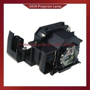 Image 1 - החלפת מנורת מקרן עם דיור ELPL34/V13H010L34 עבור EPSON EMP 62/EMP 62C/EMP 63/EMP 76C/EMP 82/ EMP X3/PowerLite 62C