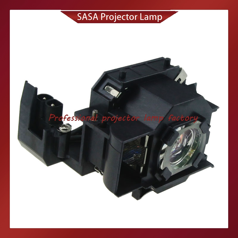 Replacement Projector Lamp With Housing ELPL34 / V13H010L34 For EPSON EMP-62/EMP-62C/EMP-63/EMP-76C/EMP-82/EMP-X3/PowerLite 62C projector lamp elplp43 v13h010l43 for epson emp twd10 emp w5d moviemate 72 with japan phoenix original lamp burner