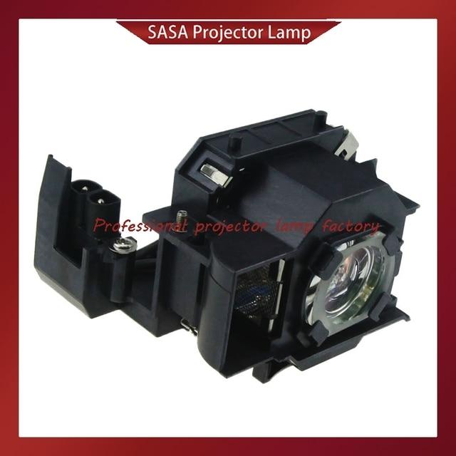 Yedek Projektör Lambası Ile Konut ELPL34/V13H010L34 EPSON EMP 62/EMP 62C/EMP 63/EMP 76C/EMP 82/ EMP X3/PowerLite 62C