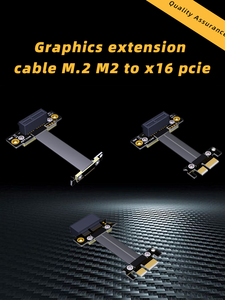 Image 5 - כפול 90 תואר זווית נכונה PCIe 3.0x1 כדי x1 הארכת כבל R11SL TL 8G/bps מהירות גבוהה PCI Express 1x Riser כרטיס רצועת הכלים Extender