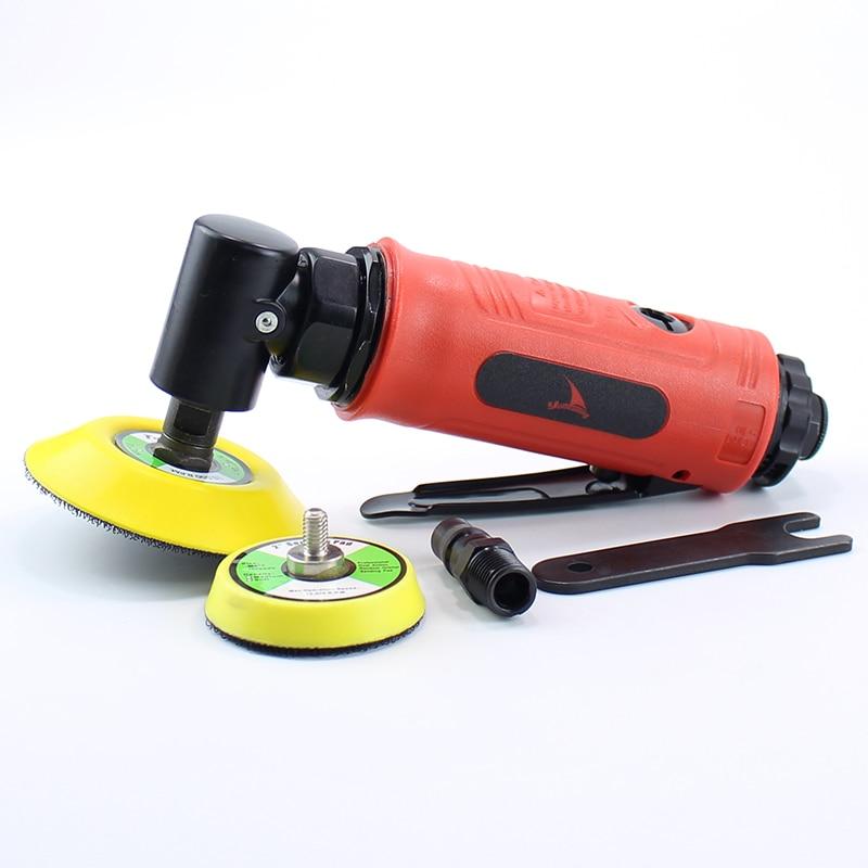 цена на High Quality 2 inches 3 Inch (75MM) Concentric Air Sander Pneumatic Polishing Grinder Tool 90 Degree Polisher Machine