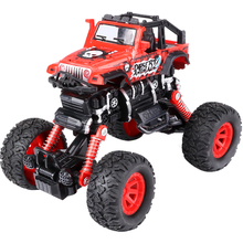 Ant Children's off-road vehicle bigfoot four-wheel climbing car model simulation mountain bike boy toy pull back car four wheel drive off road vehicle simulation model toy car model baby toy car gift