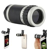 8X18 휴대 전화 광각 망원경 단안 HD 망원 렌즈