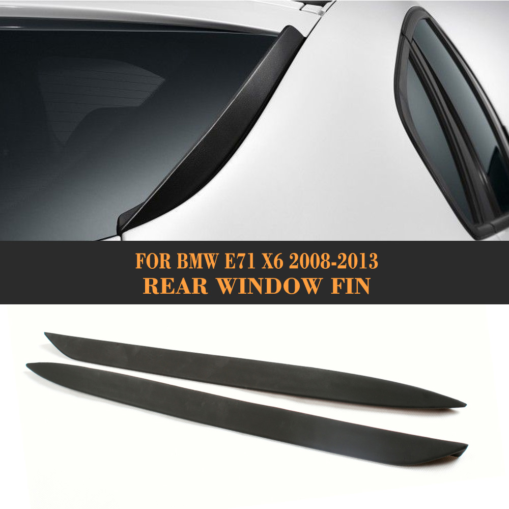 High quality PU Wing Spoiler for BMW E71 X6 Side