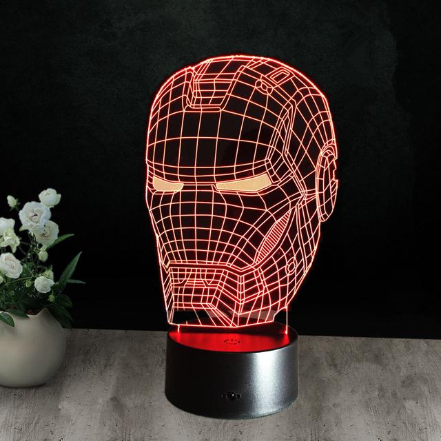 Night Light 3D Lamp Gadget
