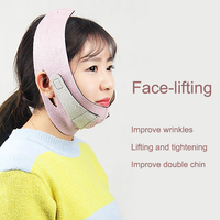 SWOISS Women 10PCS /Face lifting Bandage 3D Elastic Mask Belt Reduces Double Chin V Shaping Lifting Firming Thin Tool Face Strip