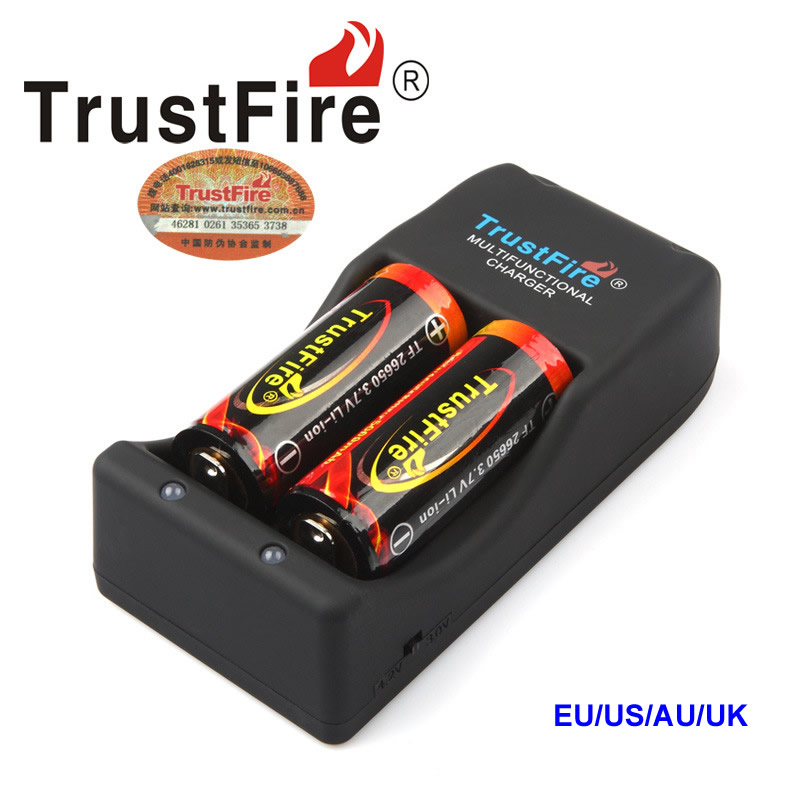 Multi-function TrustFire TR-006 Charger For TR006 <font><b>Li</b></font>-<font><b>ion</b></font> 4.2 V -3.0V <font><b>Battery</b></font> 26650 25500 26700 18650 <font><b>16340</b></font> 10440 image