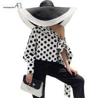c4608ef71 AEL Off Shoulder Slope Long Sleeve Top 2018 Women Sexy Fashion Single  Sleeve Blouse Female Black