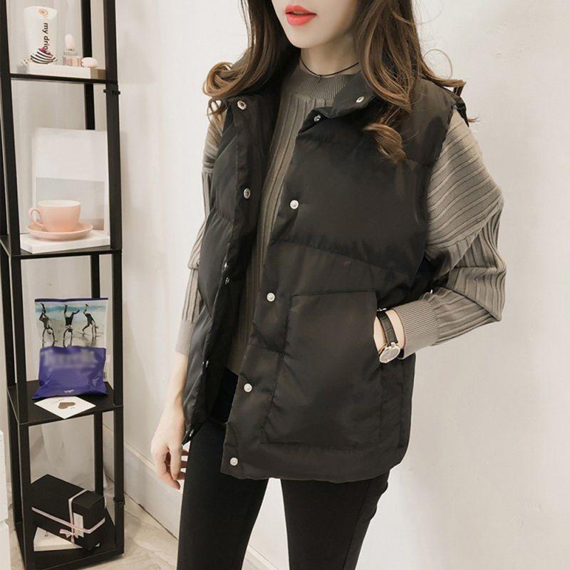 Women's Clothing Honesty New Women Parka Vest 2018 Winter Women Sleeveless Zipper Jacket Coat Female Casual Plus Size Warm Vest Ladies Outerwear X2