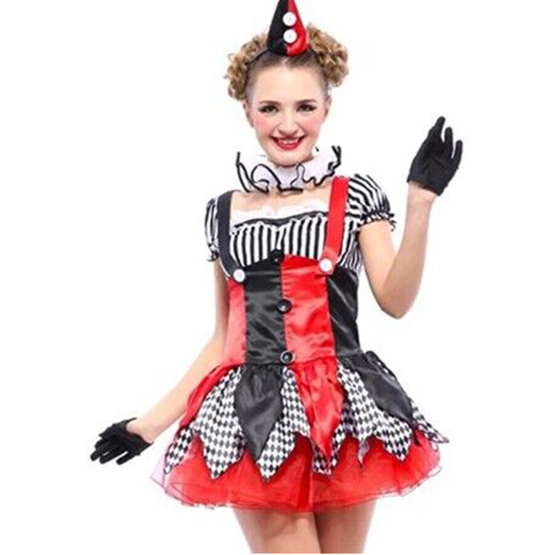 moonight halloween costumes adult funny circus clown costume naughty harlequin uniform fancy cosplay clothes for women - Naughty Costumes For Halloween