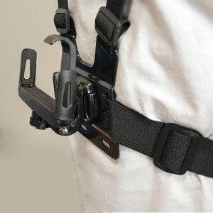 Image 3 - Universal soporte de clip para teléfono con pecho Gopro cinturón/correa para la cabeza de iPhone Samsung Huawei xiaomi smartphone para escalada ciclismo