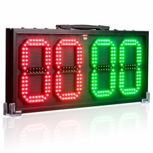 60cm 8-in LED Portable Football Electronic Soccer change player display board 1 side Referee substitution boards equipment