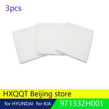 3 sztuk oryginalny filtr powietrza dla Hyundai ix25 Creta 1 6 akcent Santa Fe ELANTRA MD 1 8 i30 IX35 2 0 Tucson 971332H001 dla CARENS tanie i dobre opinie HXQQT 97133 2H001 Częstotliwość-oddzielenie filtry 97133-2H001
