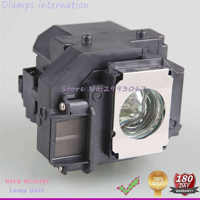 Replacement Projector Lamp for ELP54/ V13H010L54 for EPSON 705HD S7 W7 S8+ EX31 EX51 EX71 EB-S7 X7 S72 X72 S8 X8 S82 W7 W8 X8e replacement projector lamp ep54 for eb s8 eb x8 eb w8 eb x8e eh tw450 powerlite hc 705hd powerlite 79 h327a