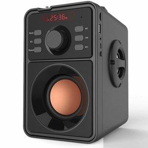Image 4 - Junke 2.1 Portable Bluetooth Speaker Draadloze Stereo Subwoofer Zware Bas Speakers Muziekspeler Ondersteuning Led Display Fm Radio Tf