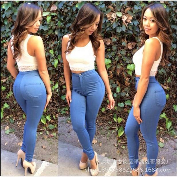Popular Super High Waisted Jeans-Buy Cheap Super High Waisted ...