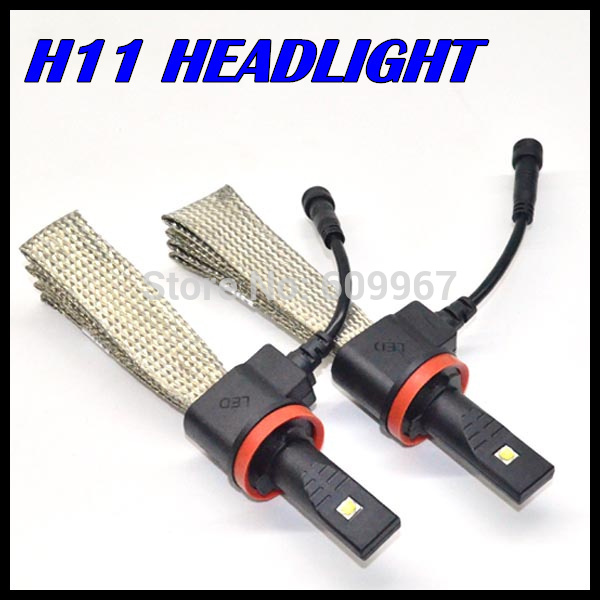 H11 LED 9005 9006 h7 auto phare LED puces cree 40 W 5000LM Voiture Brouillard Lumière lampe à LED Blanc voiture phare LED 12-24 v
