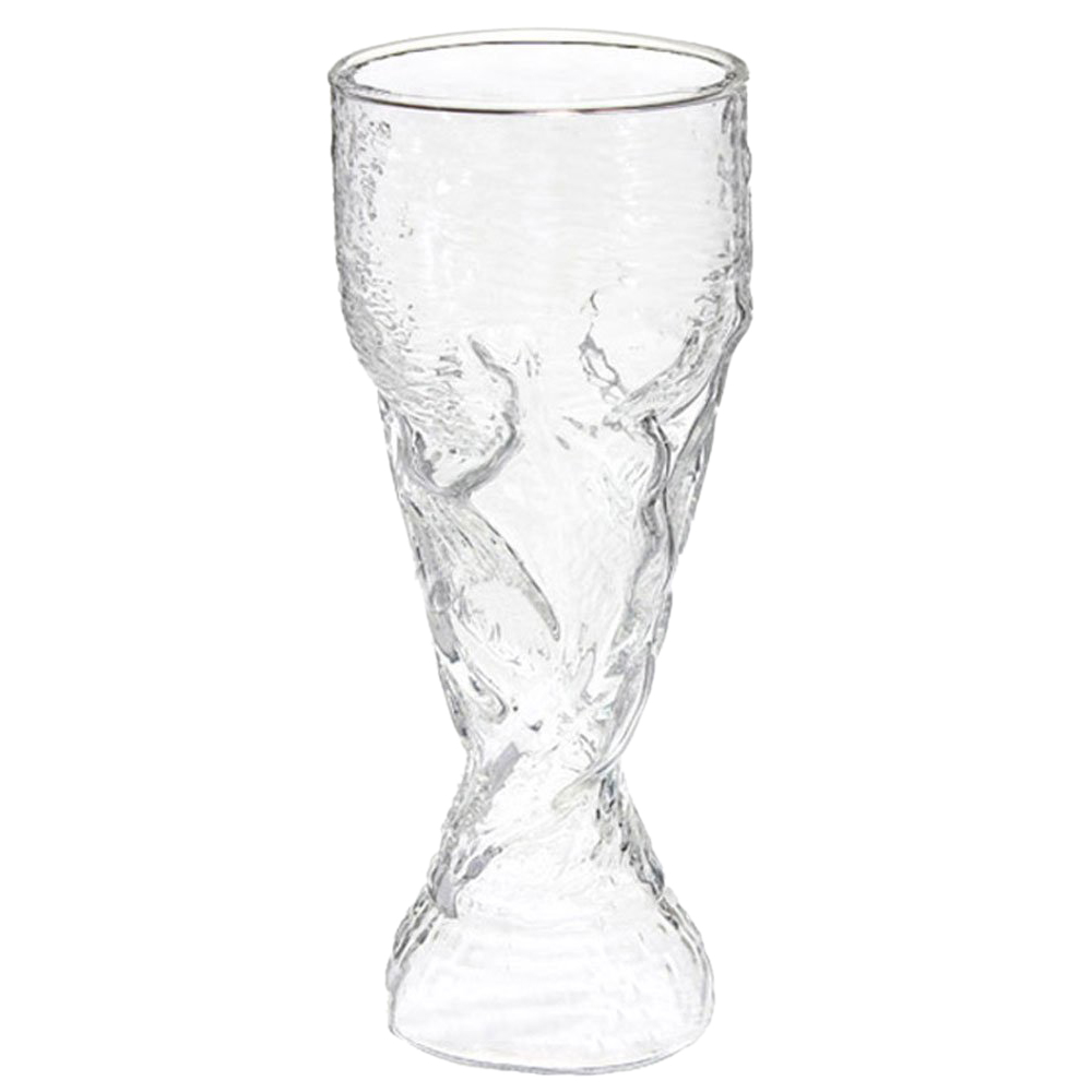 Fashion New Clear 300ml Creative Cup Design Glass Wine Beer Cup for Bar Party