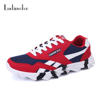 Sport Shoes For Men 39 44 Outdoor Gym Sneaker Trendy Comfortable Lace Up Walking Running Shoes