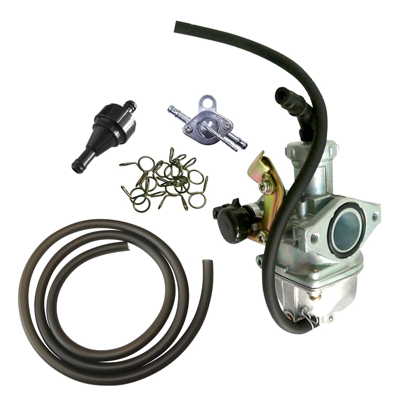 PZ 19mm Cable Choke Carburetor Black Pipe Line For 70cc 90cc 125cc Dirt Bike