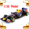 New Year Gift RB 1/32 Model Metal Formula Car Speed Racer Match Dis-cast Collection Alloy Vehicle Souvenir Present Toys Metallic