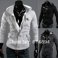 hot sale 2015 Autumn and winter new styles Men's Hooded Hoodies Korean men's Slim casual Hoodie Jacket