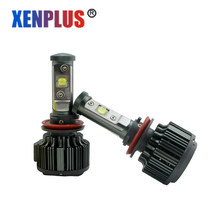 Xenplus 2pcs Led Car headlights H4/9003/HB2 H11 Hi/Lo H7 9005/HB3/H10 9006/HB4 Lumen 7200LM 40W V16 Fog Light Car-styling bulb(China)