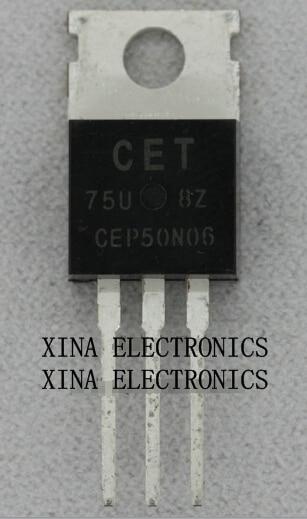 Cep50n06 Cep50n 50n06 To-220 60 V 50a To-220 Rohs Original 10 Teile/los Kostenloser Versand Electronics Zusammensetzung Kit Diversifiziert In Der Verpackung Leistungsschalter