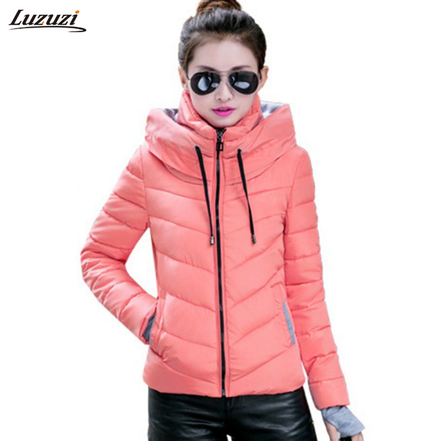 1PC Winter Jacket Women Short Cotton Parka Jaqueta Feminina ...