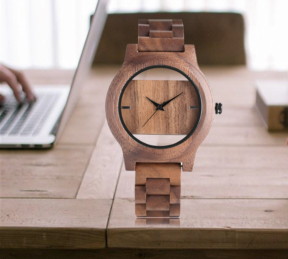 YISUYA Creative Men Hollow Bamboo Wooden Watches Fashion Watches Unique Handmade Wood Wristwatch Sport 17 New Women Relogio 16