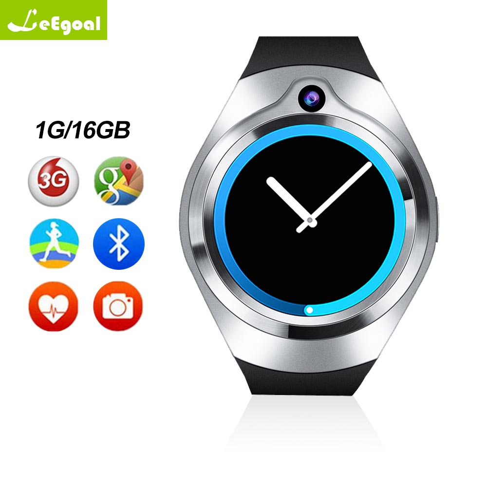Smart watch S216 Android 5.1 1 gb + 16 gb Fréquence Cardiaque relogios Bluetooth WiFi GPS smartwatch MP3 lecteur pour Android iOS PK KW88 S99C