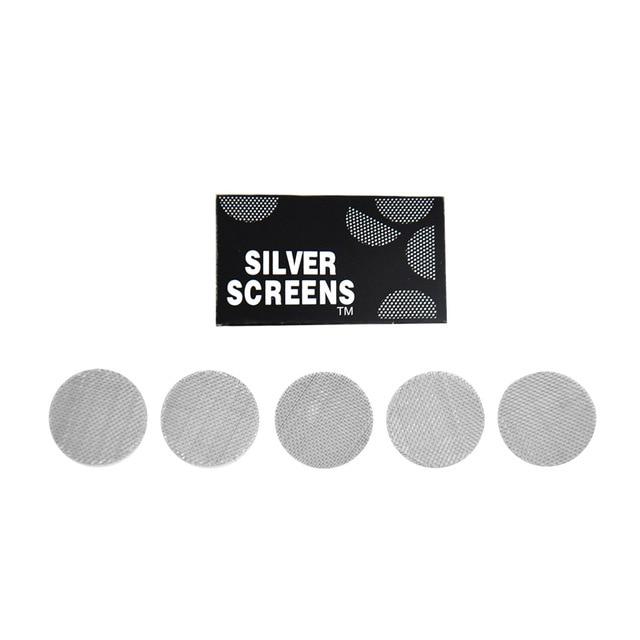 20packs/100pcs/lot Stainless Steel Metal Tobacco Smoking Pipe Screen Dia 17mm Metal Filters
