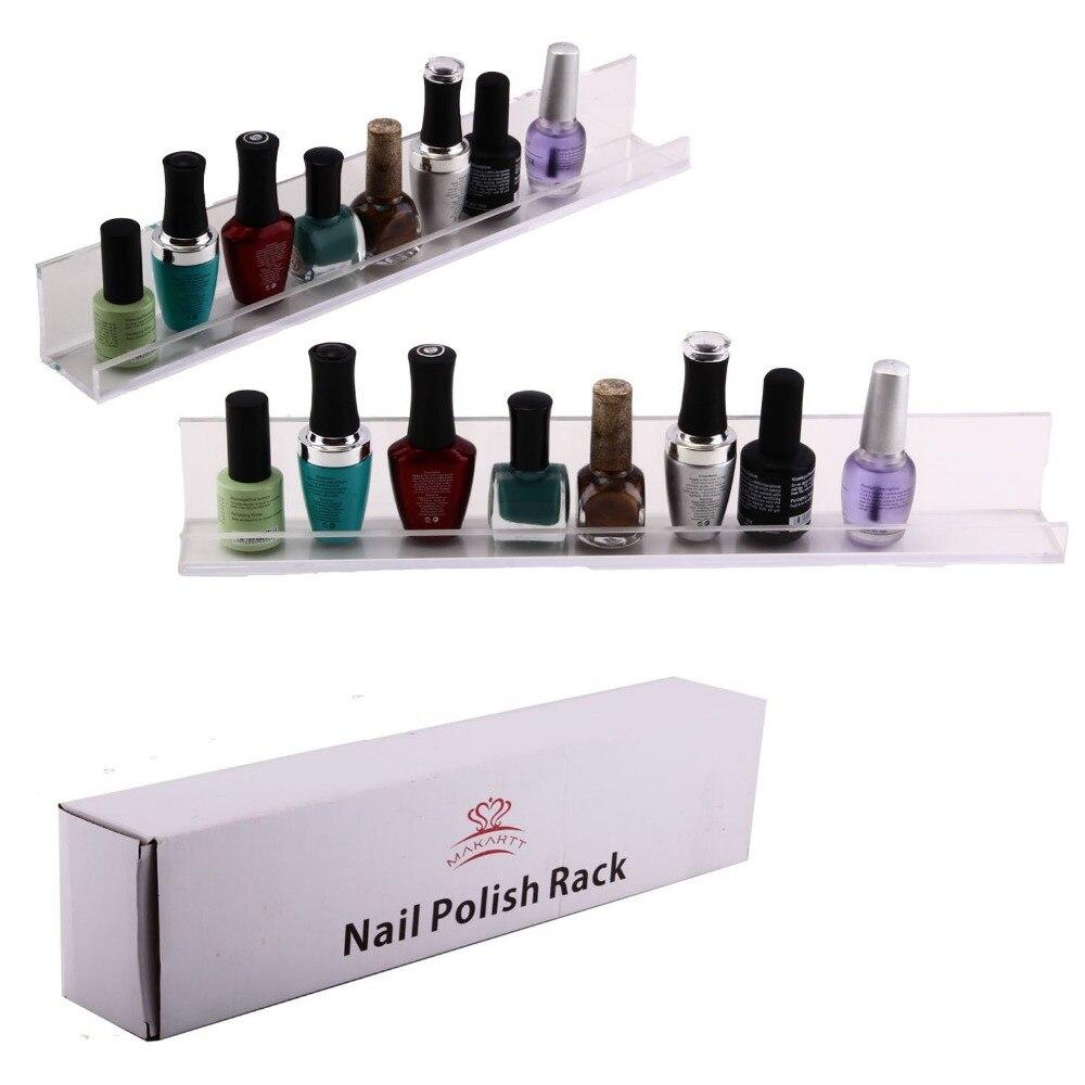 Pretty pantalla Invisible esmalte de uñas de acrílico estante 3 ...