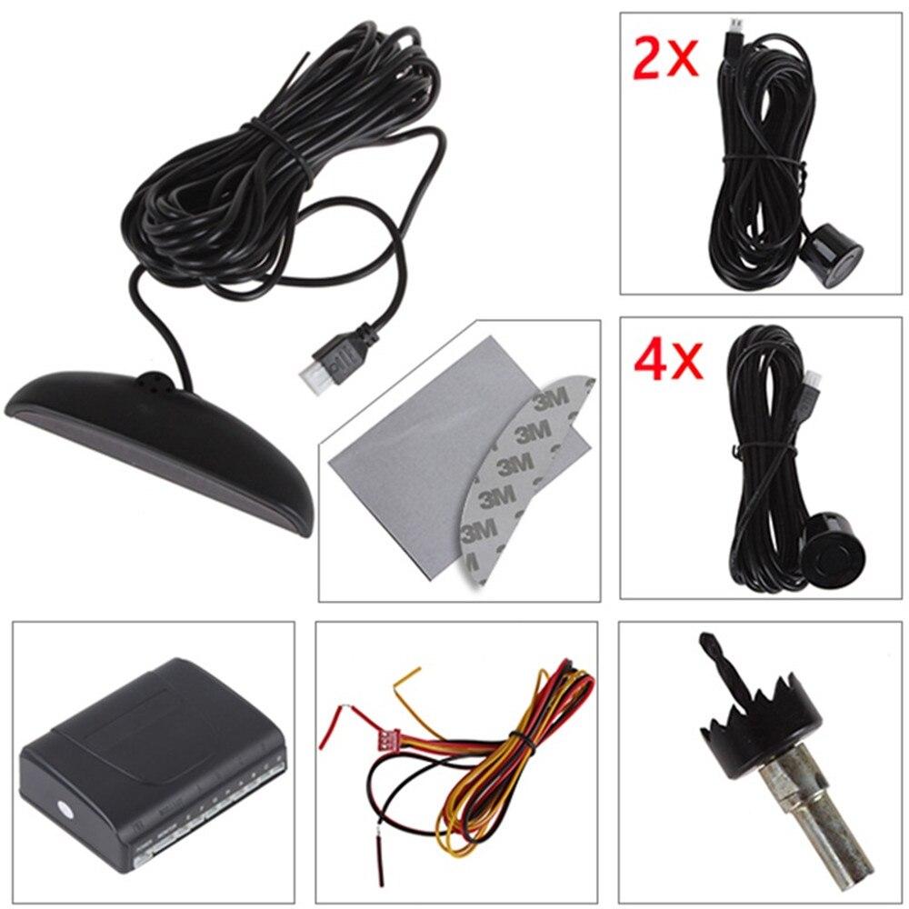 Car Auto Parktronic LED կայանման ցուցիչի - Ավտոմեքենաների էլեկտրոնիկա - Լուսանկար 6