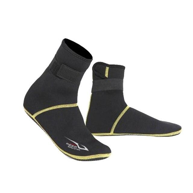 1 çift Kış Yüzme kat çorap Neopren Plaj Botları Wetsuit Ayakkabı dalış çorapları