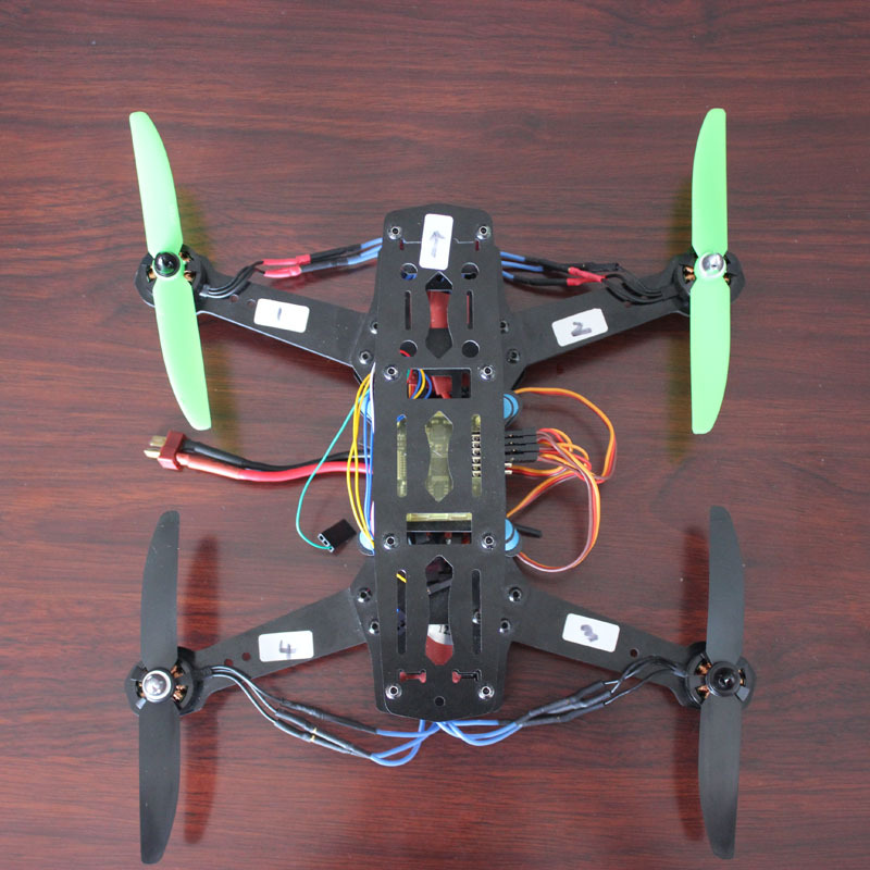 Mini 250 Quadcopter frame CC3D Flight Controller 1806 2280kv Motor SimonK 12A ESC 5030 Propeller qav250 carbon quadcopter mt2204 2300kv motor simonk 12a esc cc3d fc 5045 props