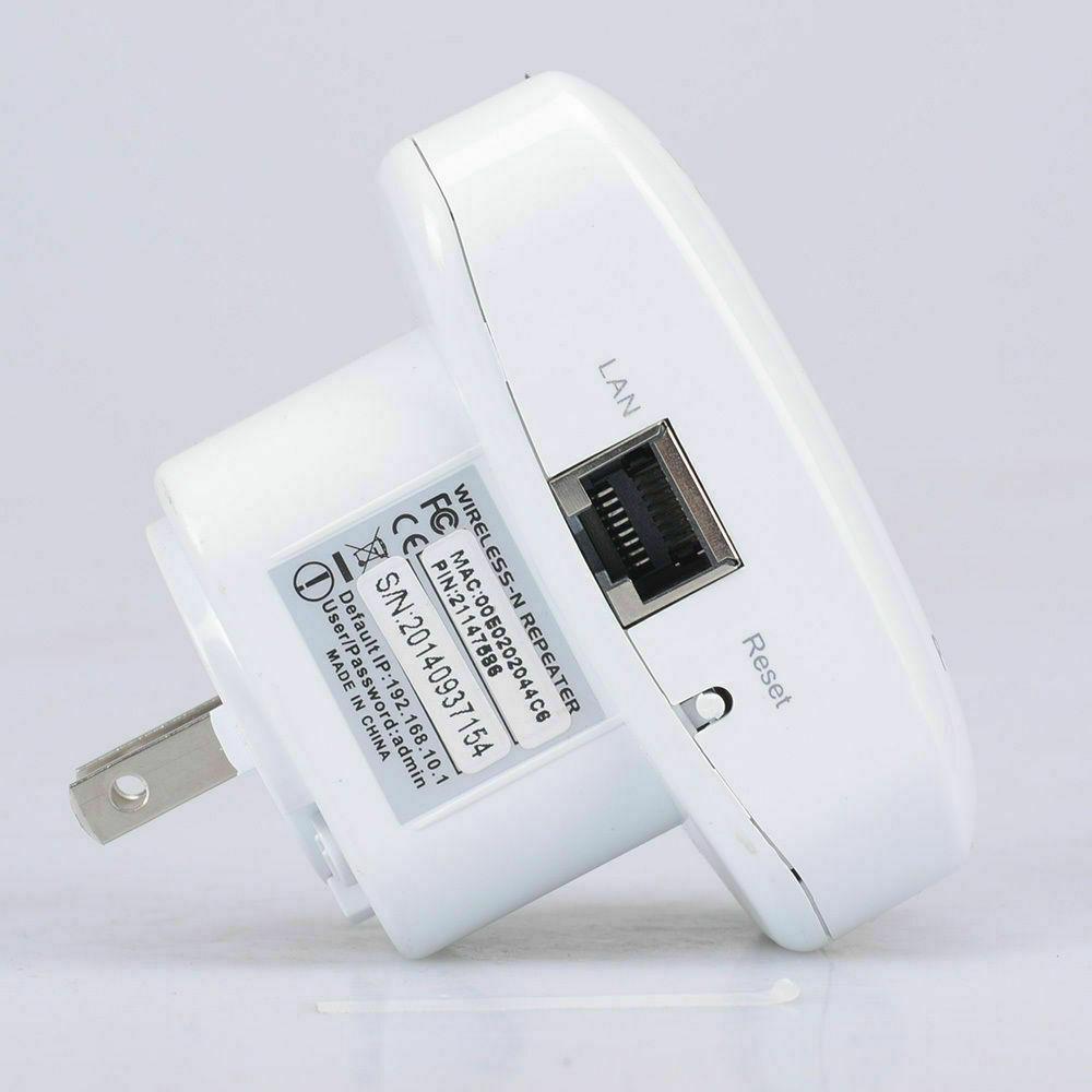 300 Mbit/s WLAN Repeater WLAN Signal Verstärker Wifi Wlan Router Boost  Extender