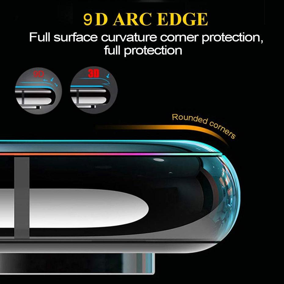9D закаленное стекло на для huawei P20 lite mate 10 P20 Pro P умный защитный экран протектор для huawei Honor 8X9 Lite 10 стекло