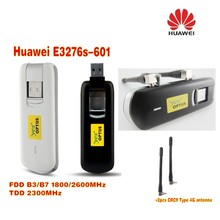 цена на Unlocked LTE FDD 2600MHz Huawei E3276 E3276s E3276S-601 150mbps Wireless modem plus 2pcs 4g antenna