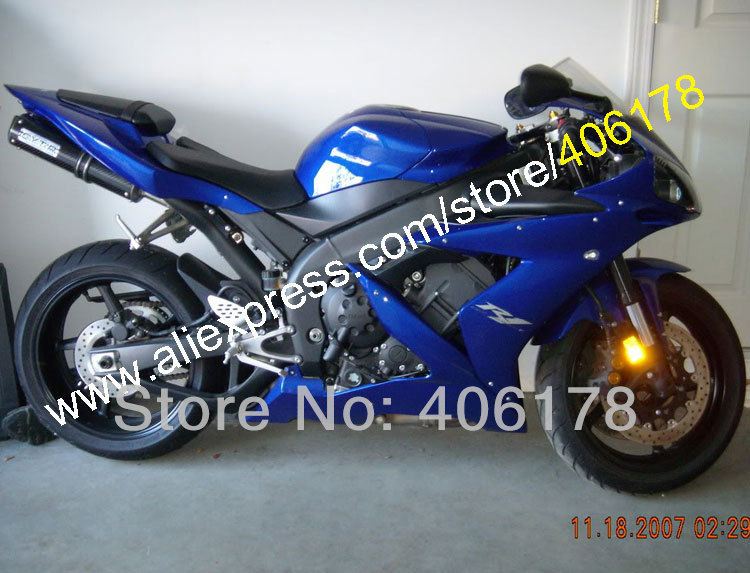 Hot Sales,For Yamaha YZF R1 2004 2005 2006 YZF1000 04 05 06 YZF-1000 R1 All Blue Motorcycle Fairings Kit (Injection molding) wotefusi black motorcycle injection mold bodywork motorcycle fairing for 2004 2005 2006 yamaha yzf1000 r1 04 05 06 3 [ck813]